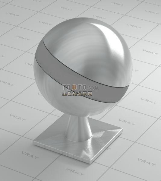 vray拉丝不锈钢VR材质