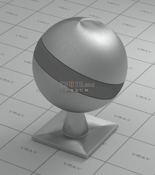 拉丝不锈钢材质VR材质