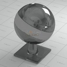 黑水晶vray材质球