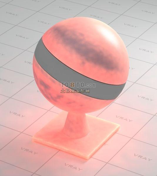 蜡烛vray混合材质下载..VR材质